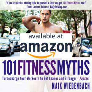 Fitness Myths Book Amazon Personal Trainer Maik
