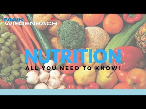Nutrition All You Need to Know!