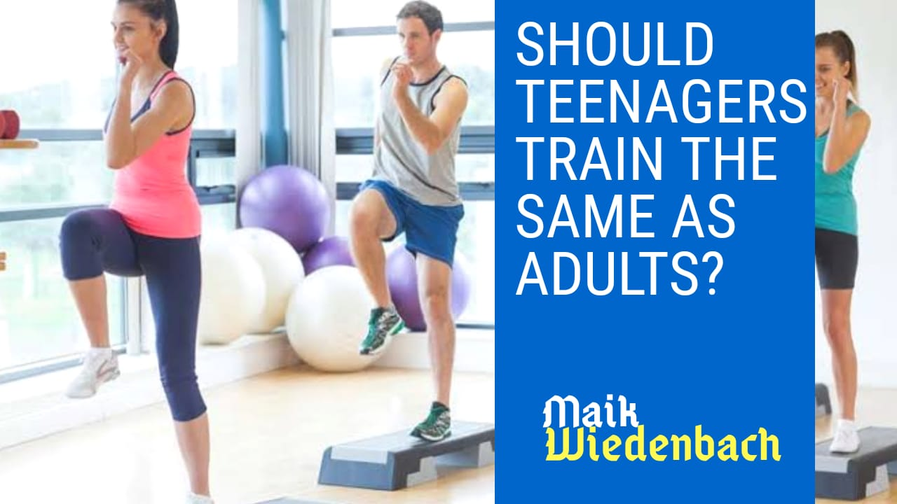 Teenagers Fitness Training