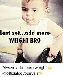When should you increase the weight?