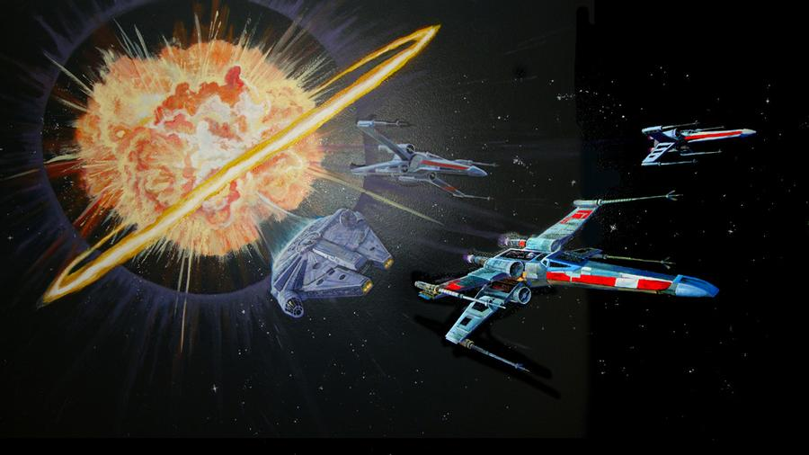 The Death Star has Exploded!